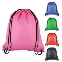 Pack of Five Polyester Drawstring Rucksacks